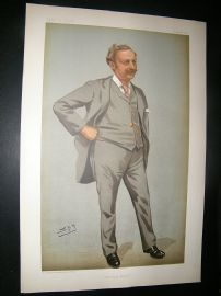 Vanity Fair Print: 1899 Edgar Thomas Cook, Newspapermen